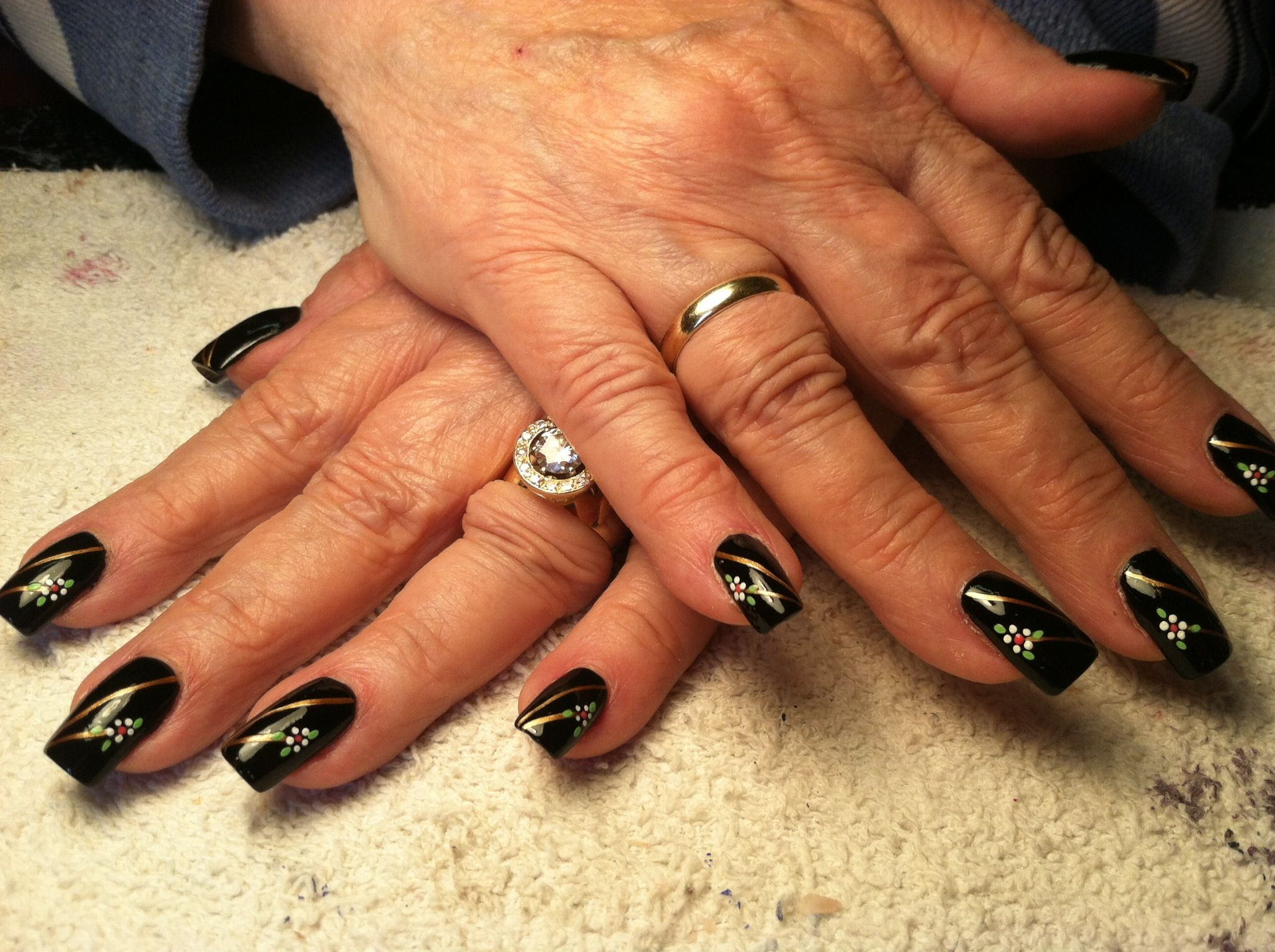 Free Hand Nail Art ~ Penny\'s Place, Corrales, New Mexico ~ Miss Dee ...