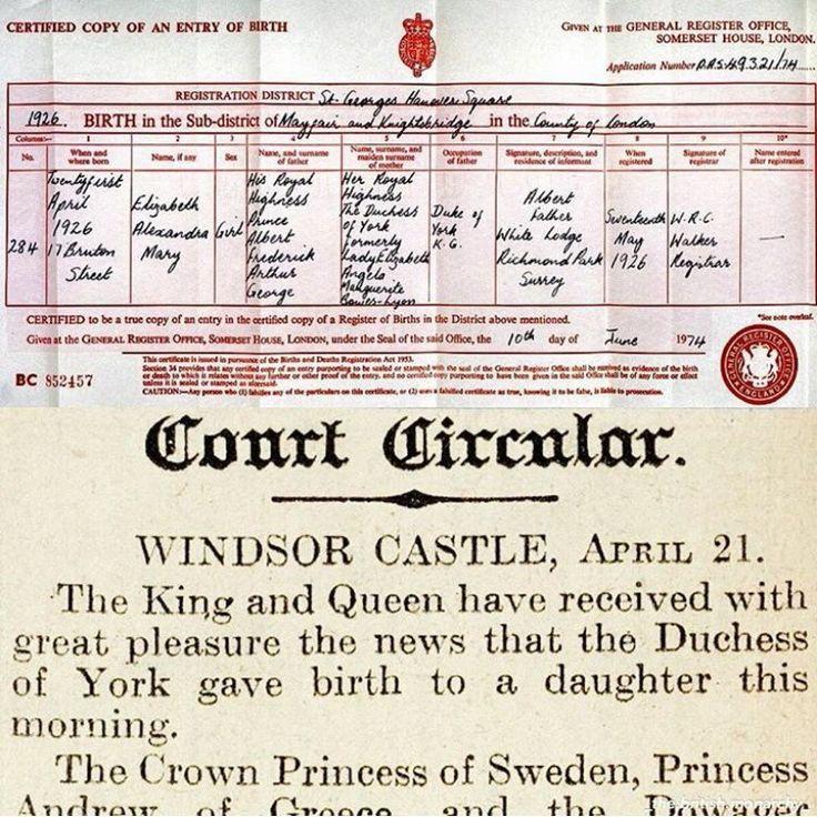 Image Result For Images Of Copy Of Entry Of Birth Of Sarah Elizabeth Liaison Bowes Lyon