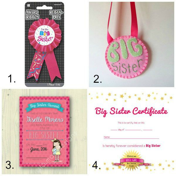 Big Sister Gifts From Baby 61 Perfect Gift Ideas For Big Sisters Big Sister Gifts Sister Gifts Big Sister