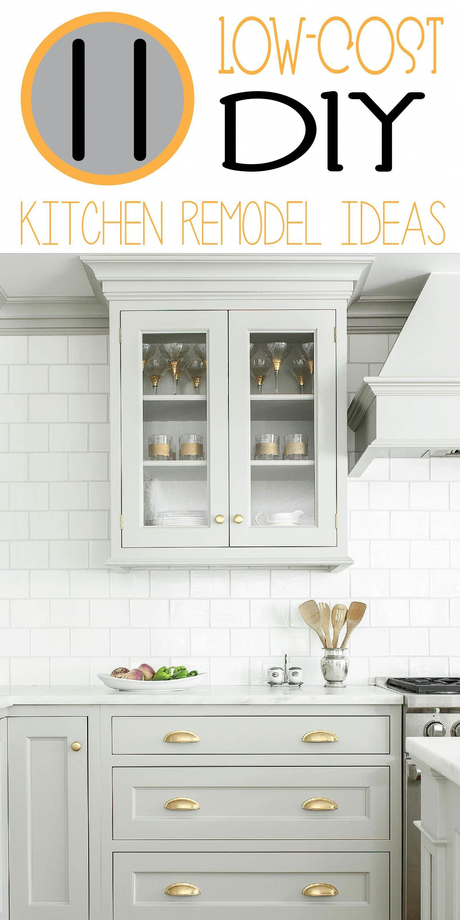 Pop out kitchen window  check out these inexpensive diy kitchen remodel ideas that will