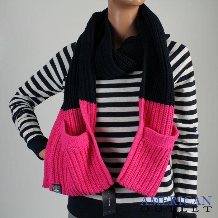Nowy Szalik Tommy Hilfiger Prosto Z Usa Fashion Sweaters Cardigan