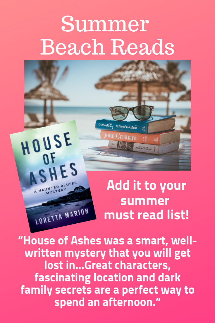 Another great review for HOUSE OF ASHES! Beach reading