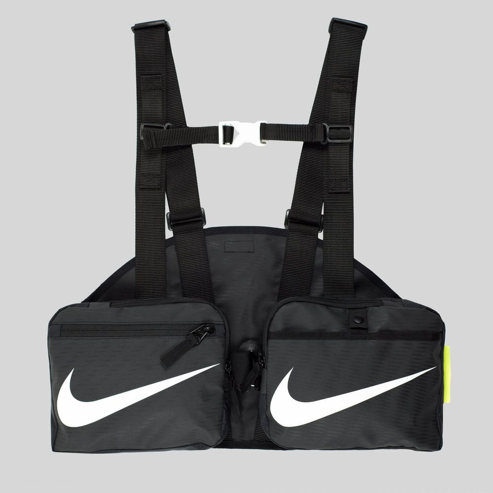 ALCH SS19 RECONSTRUCTED NIKE GILET — ALCH Nike Duffle Bag a0210d5c75c99