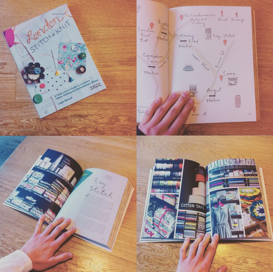 """Ray Stitch on Twitter: """"Honoured to be in Leigh Metcalf's London Stitch & Knit book - such a community of businesses supplying makers! http://t.co/fbve0f4MCd"""""""