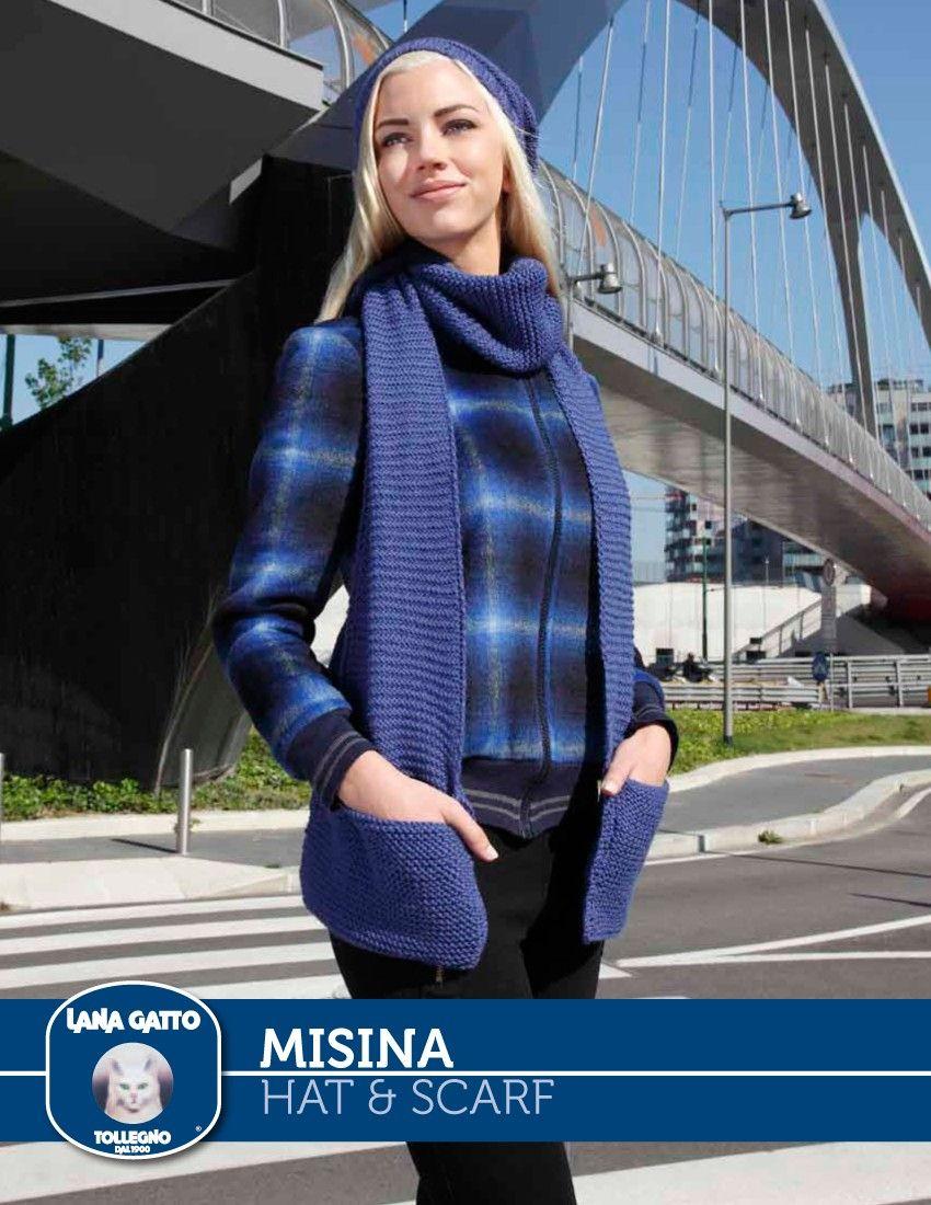 Misina hat scarf knitting fever yarns euro yarns knit misina hat scarf knitting fever yarns euro yarns bankloansurffo Images