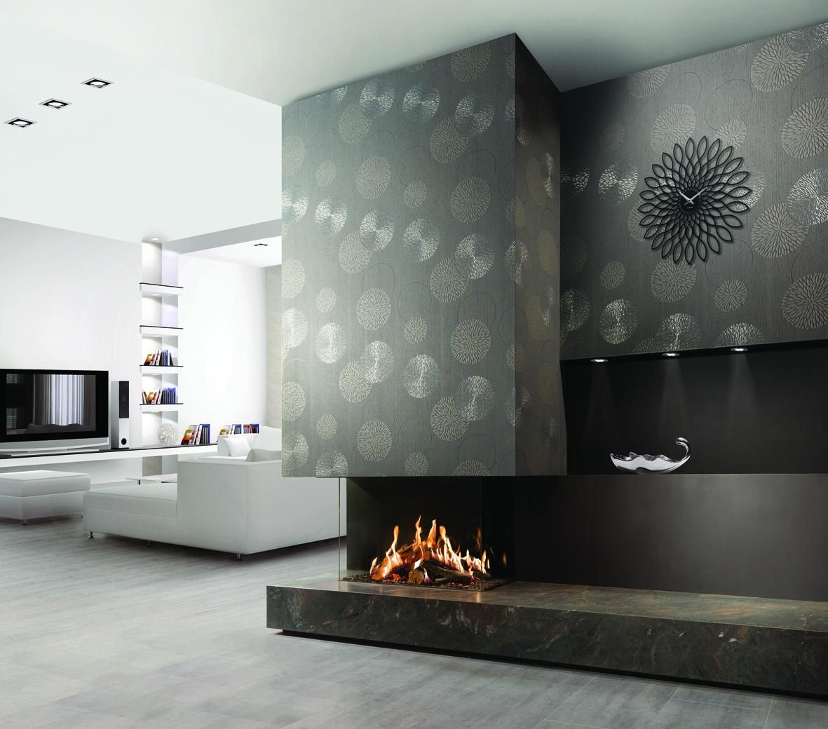 Epingle Sur Cheminee Insert Gaz Confort Design Cheminee Decoration
