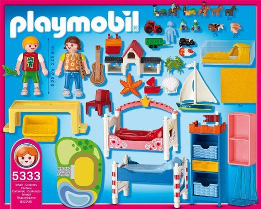 PLAYMOBIL Boy and Girl Room Toys & Games