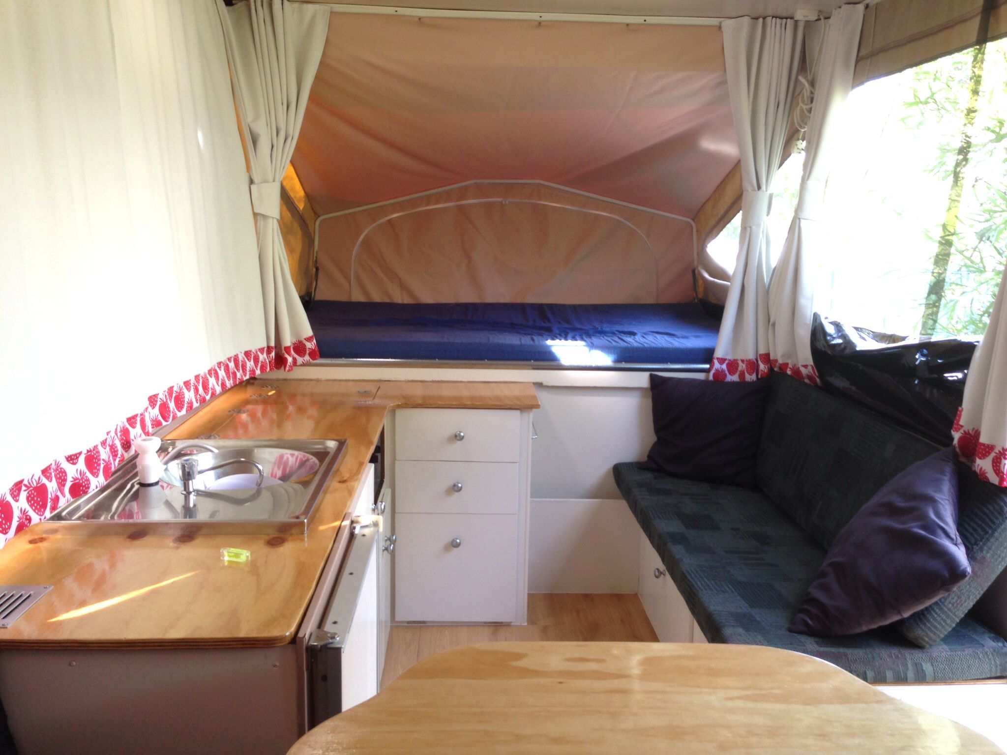 After Picts Of 1978 Jayco Popup Camper Remodeled Campers Popup