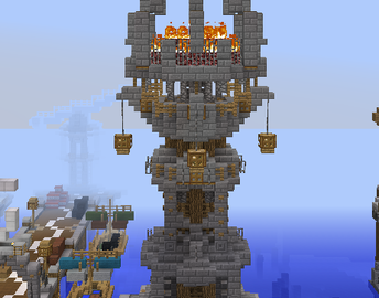 Fantasy Lighthouse Grabcraft Your Number One Source For