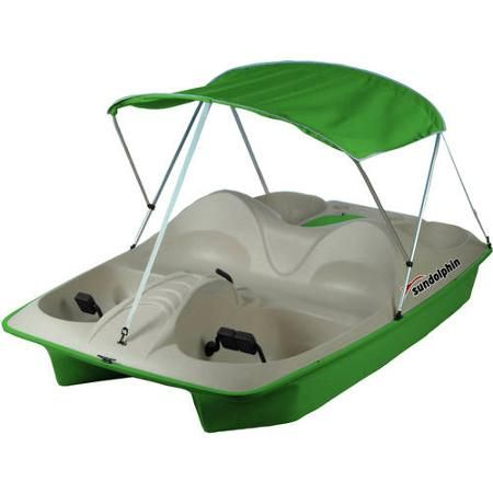 Sun Dolphin 5 Seat Pedal Boat with Canopy - Walmart com