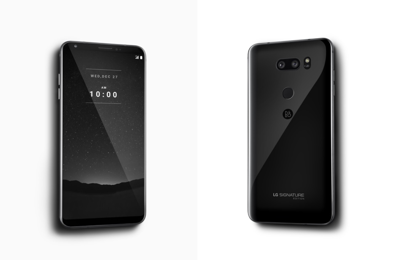 LG V30 Signature Edition Launched In South Korea With Android 80 Oreo Ceramic Body 6GB RAM