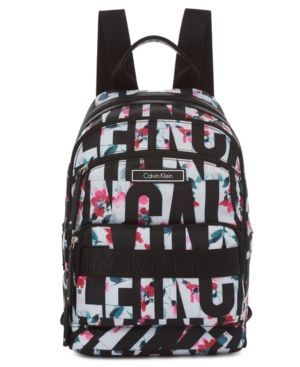 89612da81 Calvin Klein Dressy Nylon Backpack - Black Klein Backpack, Tote Backpack,  Backpack Handbags,