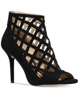00d5b05cfb8 MICHAEL Michael Kors Yvonne Booties - Boots - Shoes - Macy s ...
