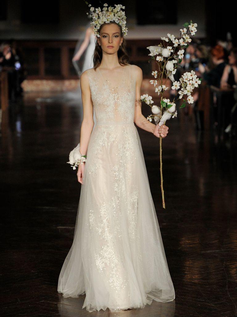 Ethereal wedding dress  Reem Acra Spring  Dreamy Ethereal Wedding Dresses  Ethereal