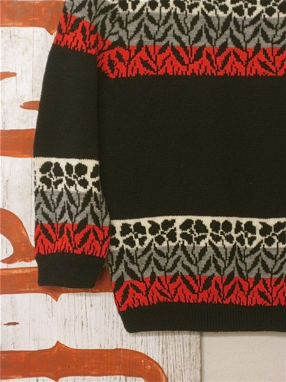 love the background colors making the fair isle effect | Items I ...