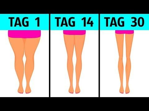 4-Minuten-Training nach dem Aufwachen für schlankere Beine - YouTube #cardioworkouts