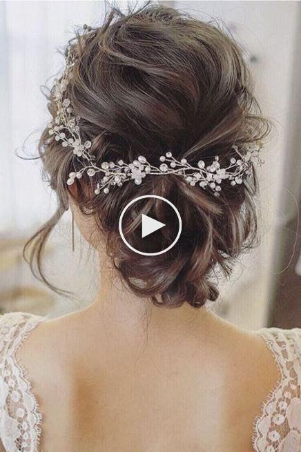 52 trendy wedding hairstyles brunette rustic #Wedding ...