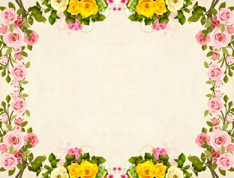 Free Stock Photo Of Yellow Flower Frame Vintage Background Flower Frame Flower Backgrounds Beautiful Flowers Pictures