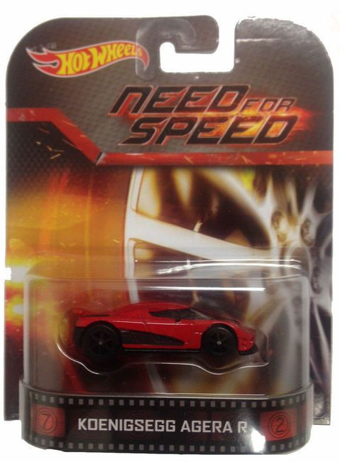 Hot Wheels Retro 2014 Bdt77 C Case Need For Speed Game Movie