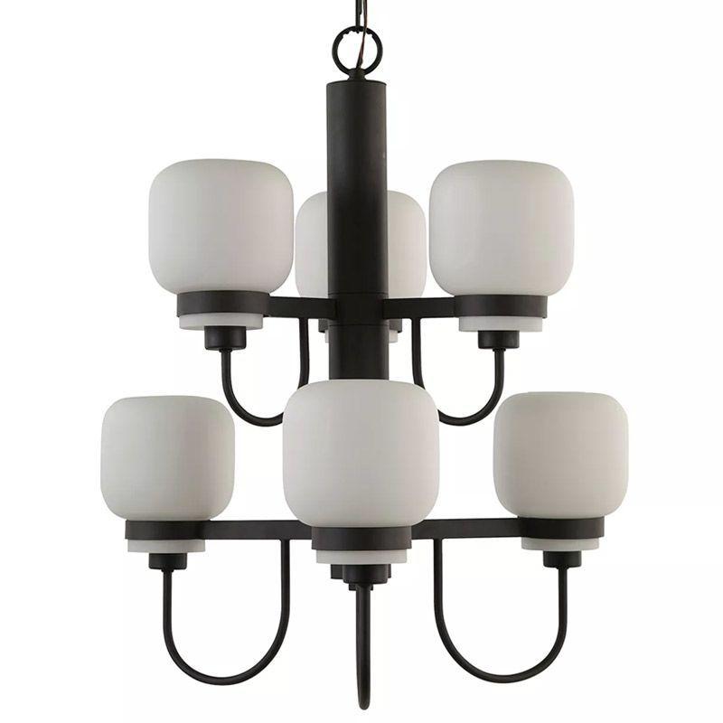 """Park Harbor PHHL6226 Calloway 24"""" Wide 6 Light 2 Tier Empire Style Chandelier wi Oil Rubbed Bronze Indoor Lighting Chandeliers"""