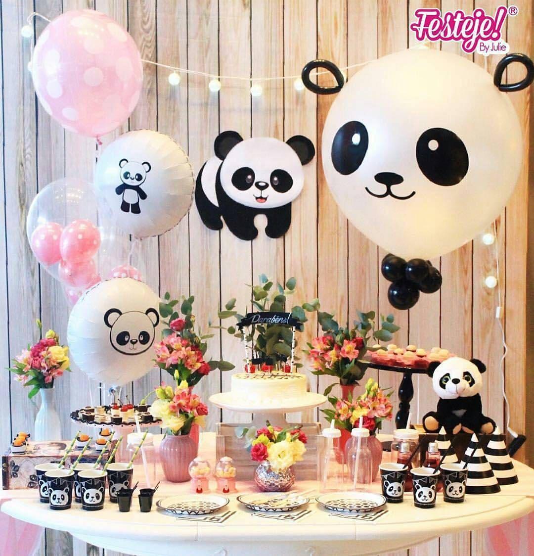panda birthday party decoration ideas