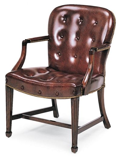 8314 Georgetown Buttoned Side Chair