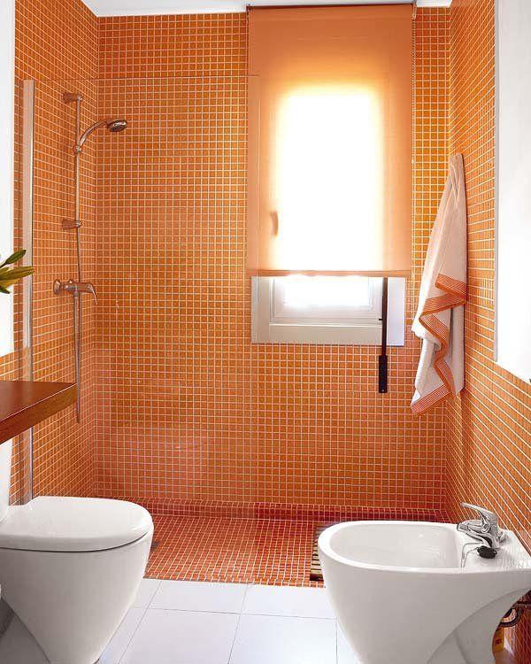 Ejemplos de cuartos de baño con ducha (y los planos) | Baño con ...