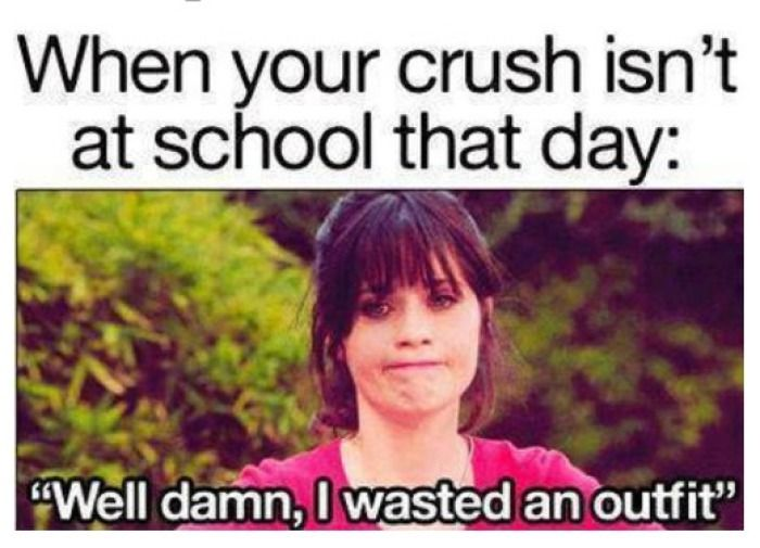Funny Memes For Your Crush : Crush memes we like fiction characters and school
