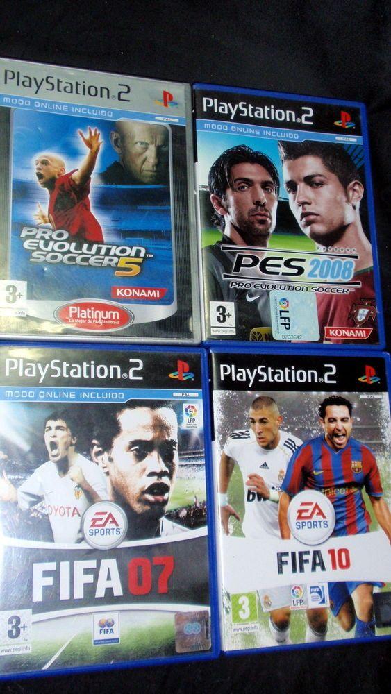 Videojuegos PLATSTATION 2 Ps2 PRO EVOLUTION SOCCER 5-2008 y