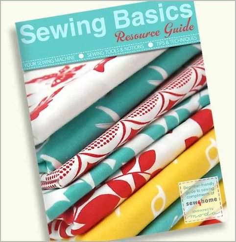 learn to sew with this free guide & fun tutorials