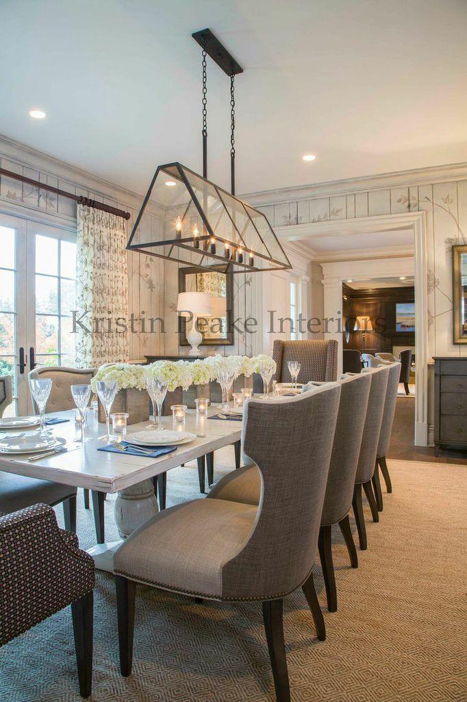 dining room i designed in mclean virginia kristin peake