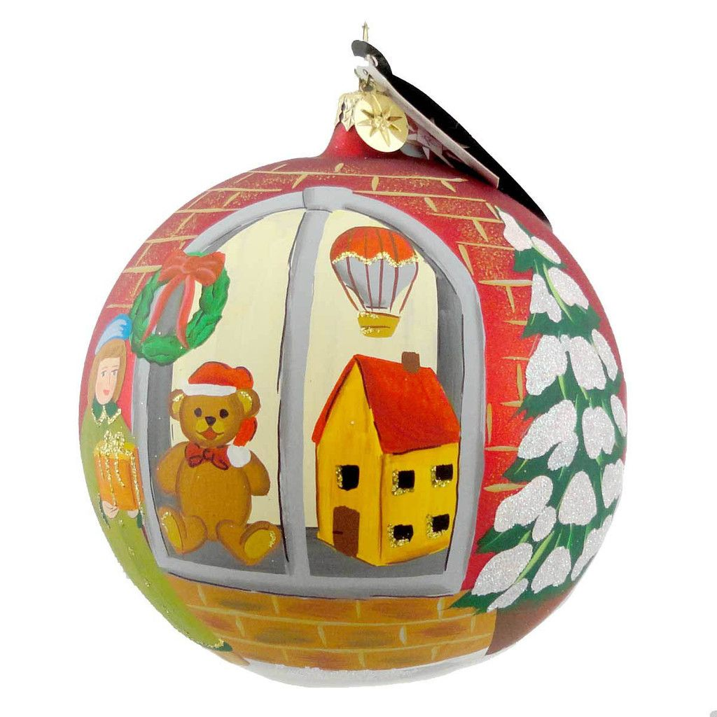 Christopher Radko Story Book Holiday Glass Ornament Height: 5 Inches Material: Blown Glass Type: Glass Ornament Brand: Christopher Radko Item Number: Christopher Radko 1013899 Catalog ID: 7808 New Wit