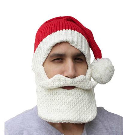 f718f8268c2ed Knit Santa Hat with Beard