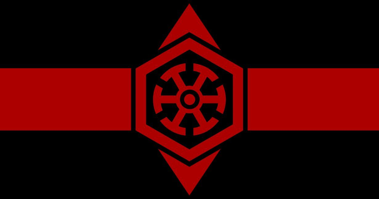 Flag Of The Sith Empire By Redrich1917 Deviantart Com On Deviantart Sith Empire Flag Nerd Tattoo