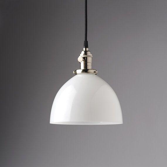 White Glass Globe Pendant Light Fixture With 8 Shade Etsy Globe Pendant Light Glass Globe Pendant Light Globe Pendant Light Fixture