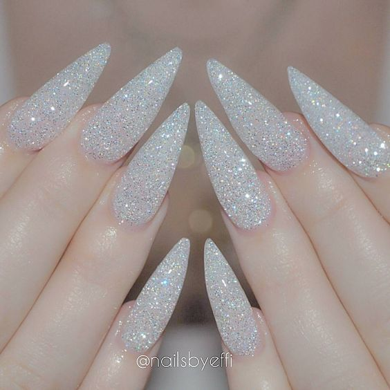 on instagram diamond nails acrylic nails top 30 trending nail art designs and ideas nail polish addicted prinsesfo Images