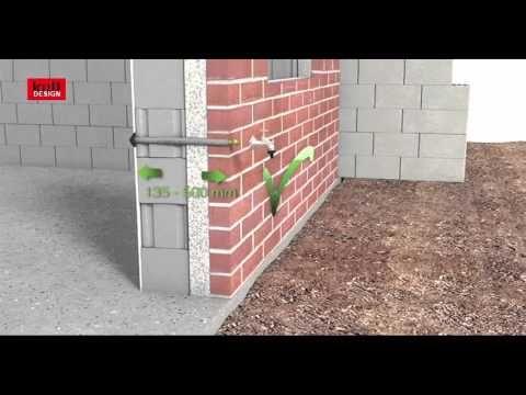 Kull Design - Montagefilm des frostsicheren Außen-Wasserhahnes