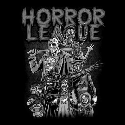 Horror League  Women's Basic T-Shirt