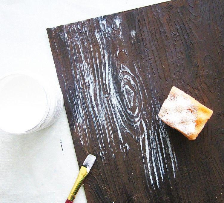 Peinture Effet Bois En 20 Idees Deco Pour L Interieur Moderne Avec