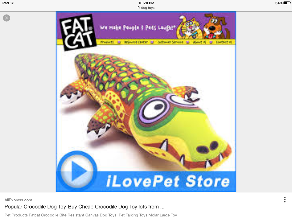 Fat Cat Cartoon Crocodile Pet Dog Bite Toy Dourable Big Large Dog Chew toy dog