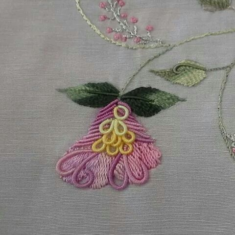 Pin by anne christensen on brazilian embroidery for Hand thread painting tutorial