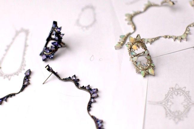 Brazilian born London based jewellery designer Fernando Jorge as
