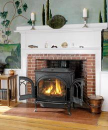 Image Result For Wood Stove In Fireplace Vented Gas Fireplace