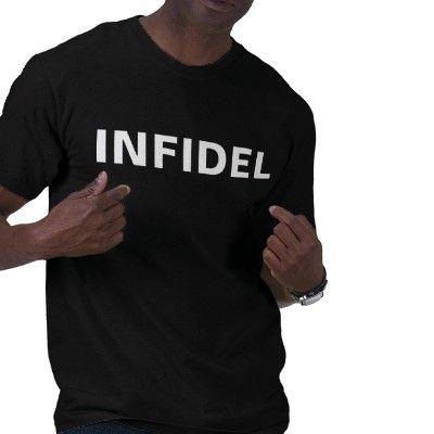 INFIDEL-black Tshirts
