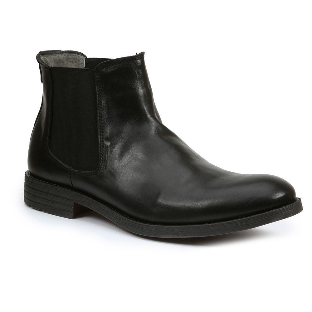 GBX Torus Men's Slip-On Ankle Boots Black