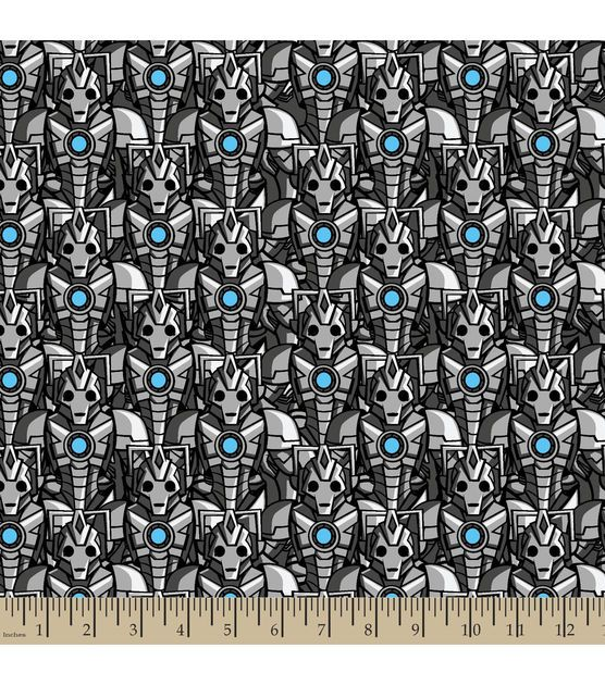 Doctor Who Cyber Man Cotton Fabric | make it work | Pinterest ... : doctor who quilting fabric - Adamdwight.com