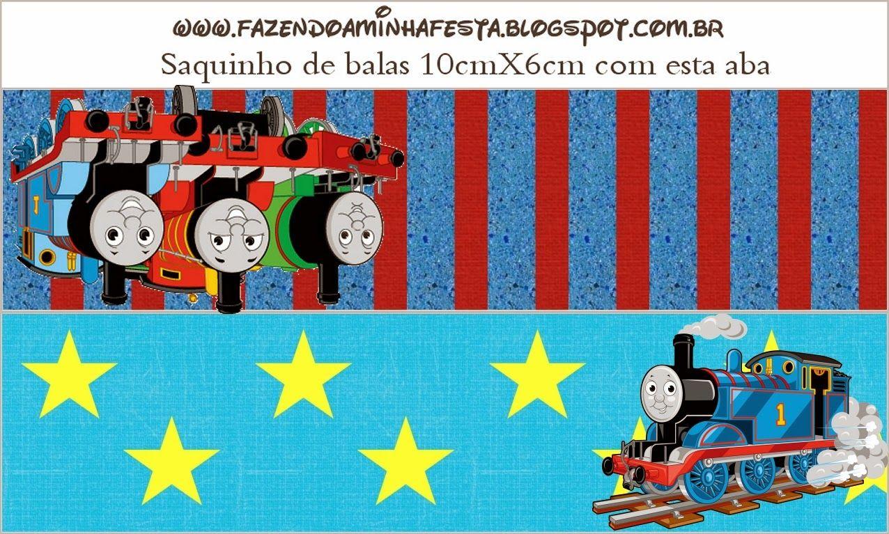 Thomás el Tren: Etiquetas para Imprimir Gratis.