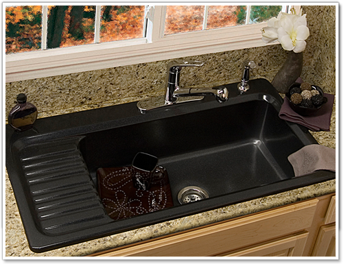 kitchen sinks with built in drainboards google search - Kitchen Sink Models