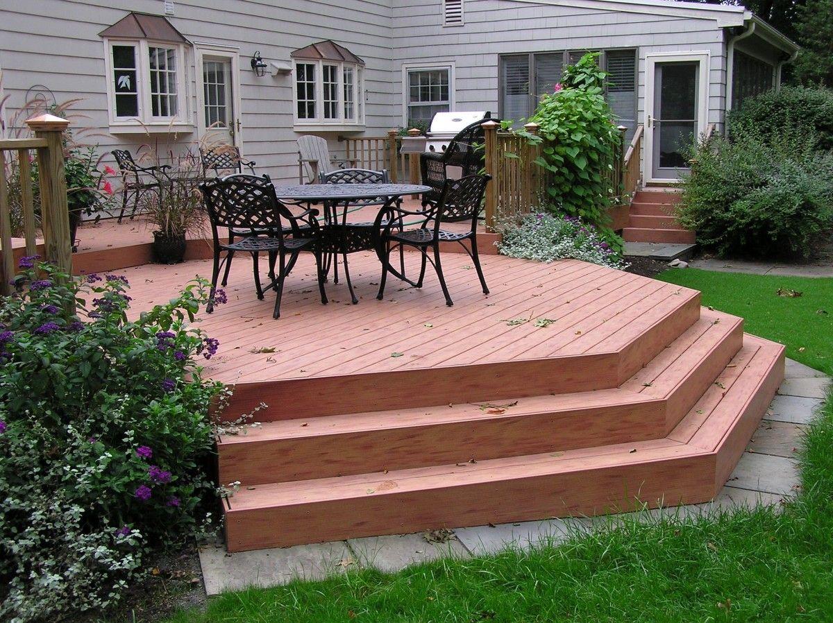 Porches decks patios delta c construction inc - Octagonal Deck Fine Homebuilding