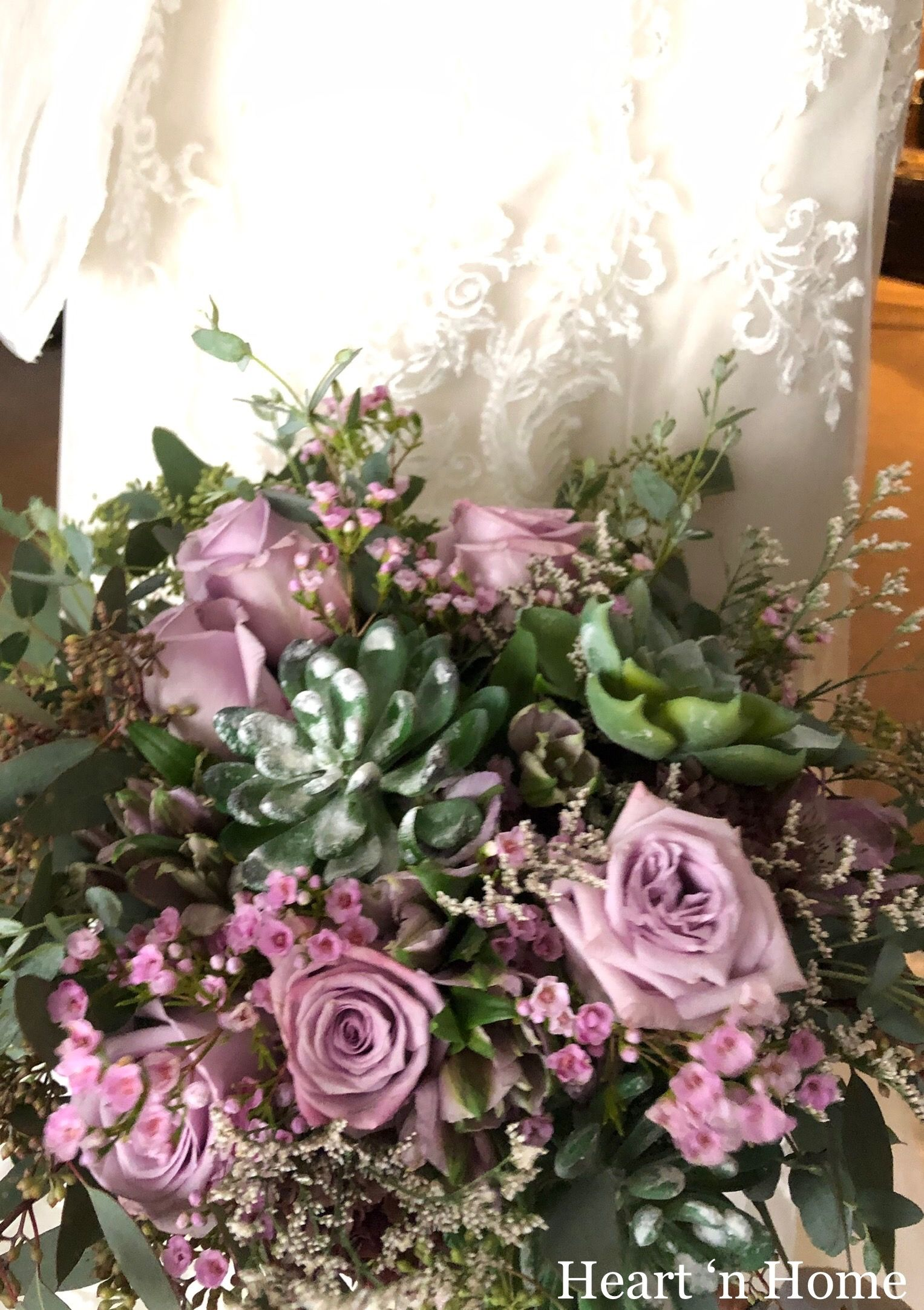 Madi & Cole Floral wedding, Wisteria, Floral wreath